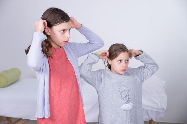 משיכות אוזניים לחידוד הקשב